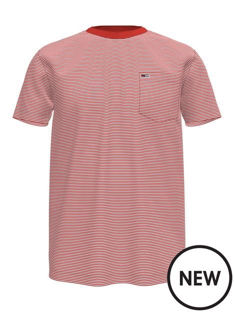 tommy-jeans-stripe-pocket-t-shirt-red