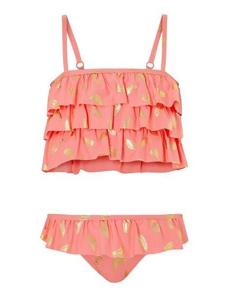 monsoon-girls-sew-watermelon-foil-frill-bikini-coral