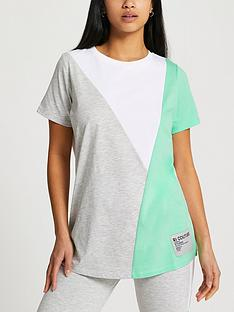 ri-petite-petite-diagonal-blocked-boyfriend-t-shirt-green