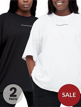 missguided-plus-missguided-plus-2-pack-missguided-branded-tshirt