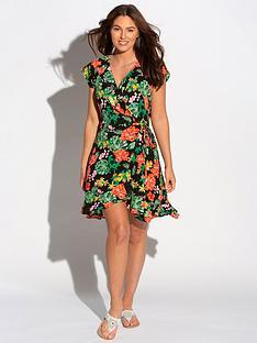 pour-moi-pour-moi-heatwave-barbados-woven-wrap-beach-dress-black-floral