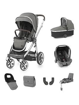 oyster-oyster-3-strollernbspbundle-with-carrycotnbspcapsule-car-seat-amp-base-mirror-chassismercury