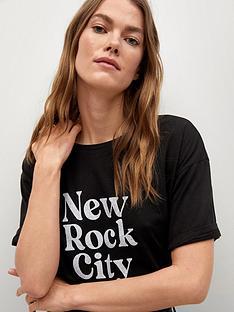 mango-slogan-t-shirt