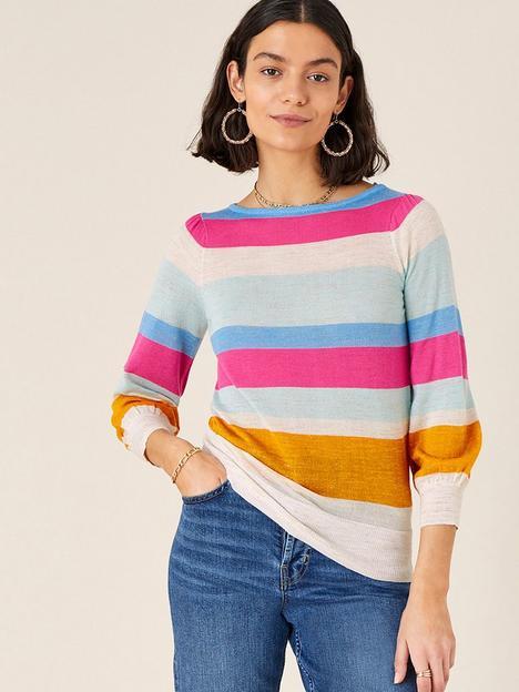 monsoon-stripe-linen-jumper