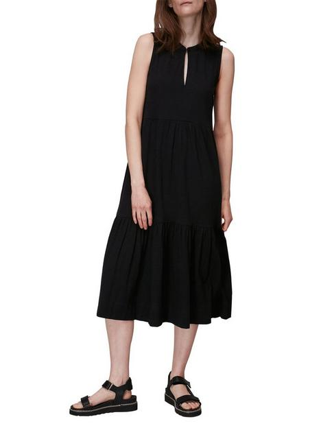 whistles-tiered-jersey-dress-black