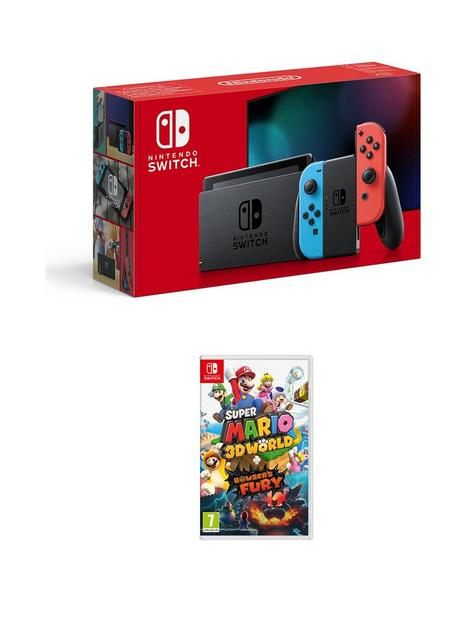 nintendo-switch-neon-console-with-super-mario-3d-world-bowserrsquos-fury