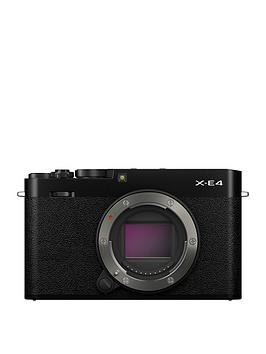 fujifilm-x-e4-mirrorless-camera-body-only-black