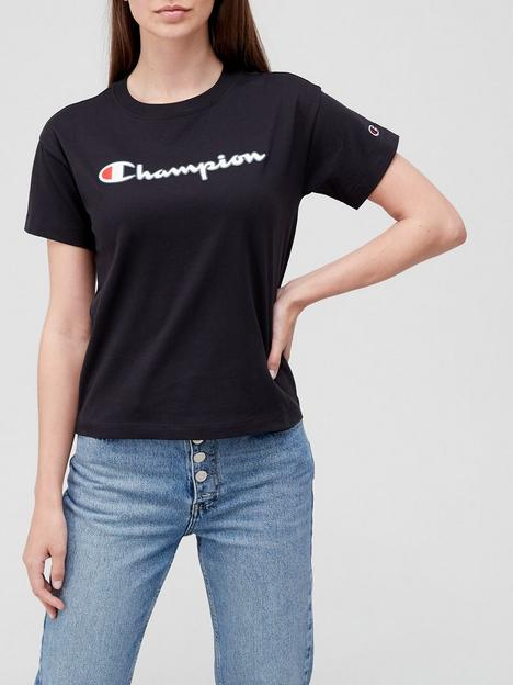 champion-crew-neck-t-shirt-black