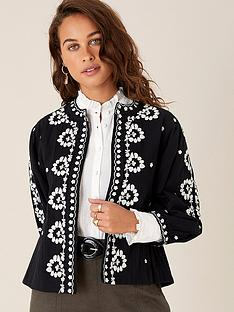 monsoon-black-embroidered-jacket