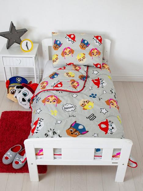 rest-easy-sleep-better-paw-patrol-coverless-quilt-4-tog-toddler-with-filled-pillow