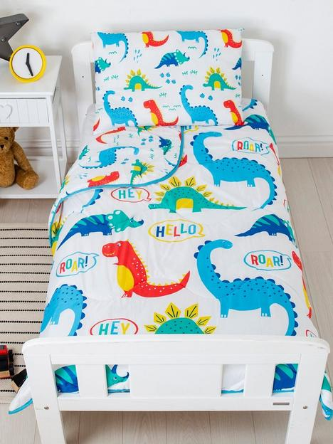 rest-easy-sleep-better-dinosaur-coverless-quilt-4-tog-with-filled-pillow-toddler