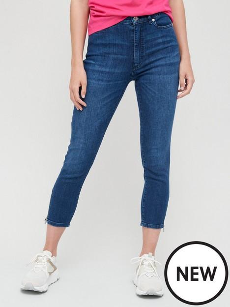 hugo-lou-slim-fit-cropped-jeans-denim-blue