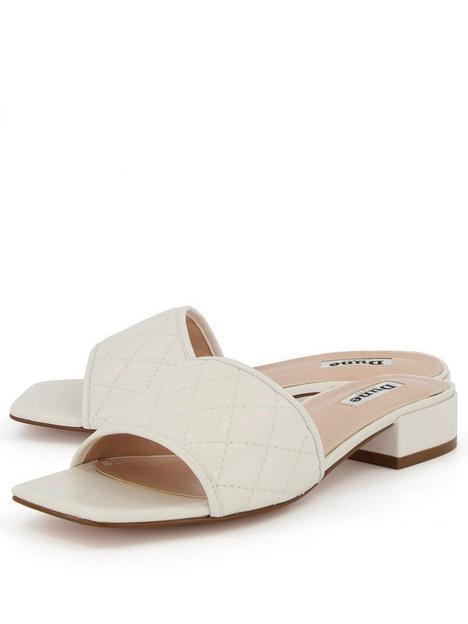 dune-london-linear-flat-sandal-white