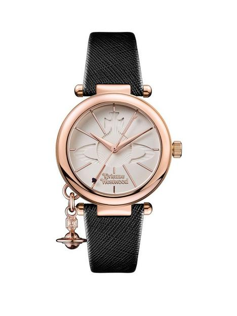 vivienne-westwood-vivienne-westwood-white-and-rose-gold-detail-charm-dial-black-leather-strap-ladies-watch