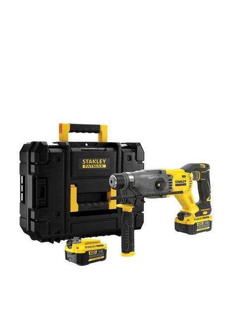 stanley-fatmax-v20-18v-cordless-sds-plus-hammer-drill-with-kit-box-sfmch900m12-gb