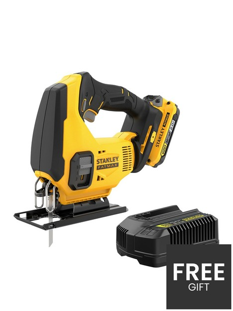stanley-fatmax-v20-18v-cordless-jigsaw-with-blade-and-kit-box-sfmcs600d1k-gb