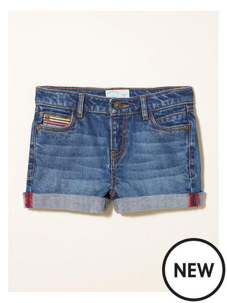 fatface-girls-rainbow-denim-shorts-denim