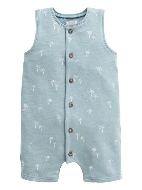 mamas-papas-baby-boys-printed-sleeveless-romper-blue