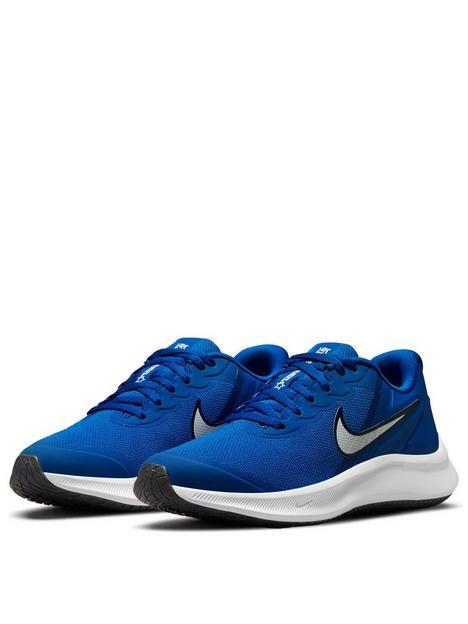 nike-star-runner-3-junior-trainers-bluewhitenbsp