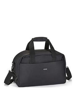 rock-luggage-platinum-black-underseat-holdall