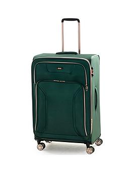 rock-luggage-hadley-large-8-wheel-suitcase-green