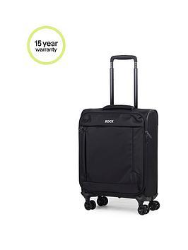 rock-luggage-astro-ii-carry-on-8-wheel-suitcase-black