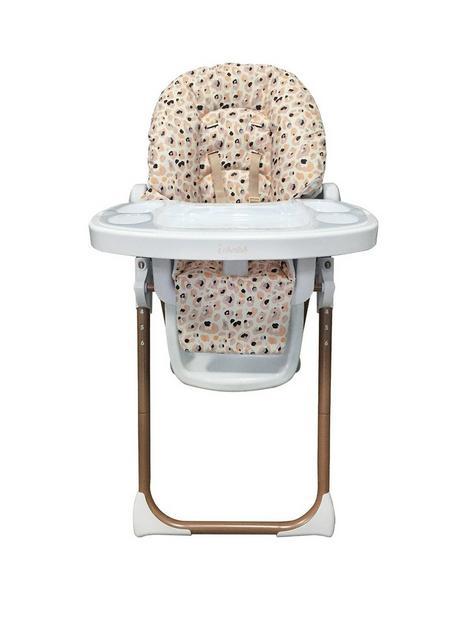 my-babiie-dani-dyer-blush-leopard-premium-highchair