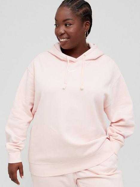 nike-nsw-essential-trend-pullovernbsphoodie-curve-pinkwhite