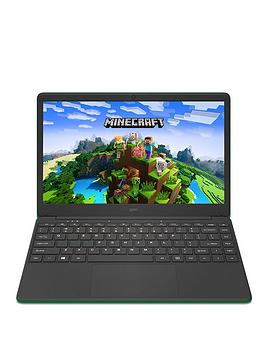 geo-geobook-140-minecraft-intel-celeron-4gb-ram-64gb-storage-14in-hd-laptop-with-microsoft-365-personal-included-and-optional-norton-360nbsp