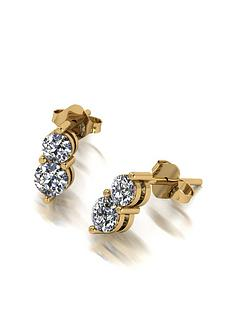 moissanite-moissanite-9ct-gold-090ct-total-two-stone-moissanite-earrings