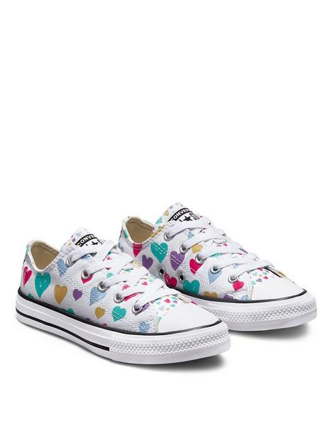 converse-converse-chuck-taylor-all-star-heart-ox-childrens-trainer