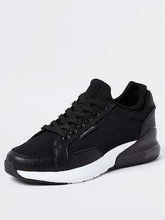 river-island-sergio-low-lace-up-runner-black