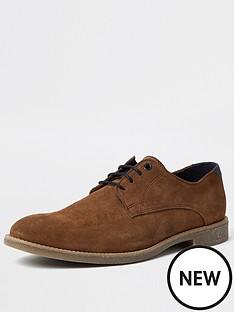 river-island-suede-casual-shoe-tan