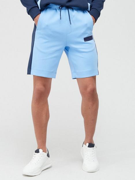 boss-headlo-batch-logo-jersey-shorts-bluenbsp