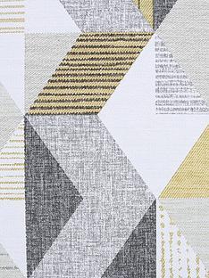 fresco-tribal-geo-ochre-grey-wallpaper