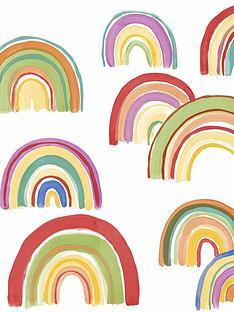 fresco-over-the-rainbow-wallpaper