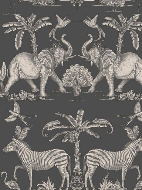 sublime-colonial-charcoal-pale-gold-wallpaper
