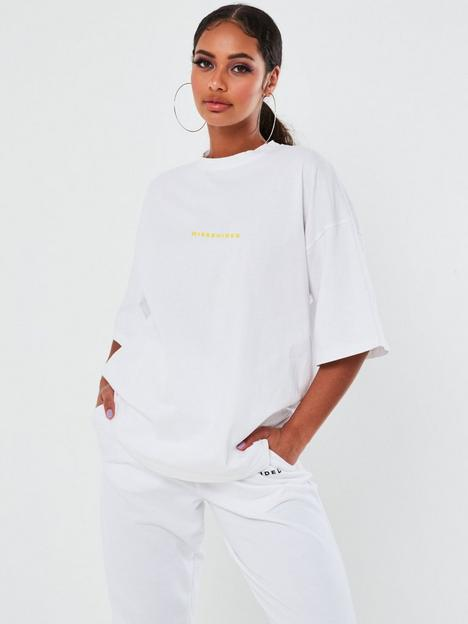 missguided-missguided-graphic-short-sleeve-oversize-tee-white
