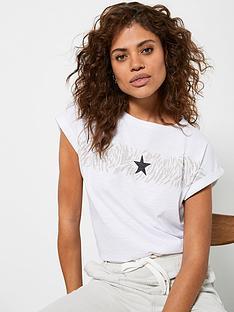 mint-velvet-animal-stripe-star-t-shirt-white