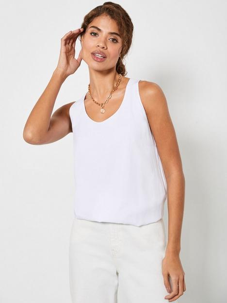 mint-velvet-bubble-hem-bow-back-vest-white
