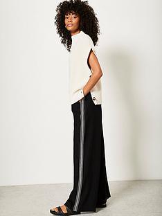 mint-velvet-side-stripe-wide-leg-trouser-black