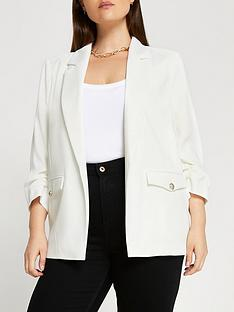 ri-plus-satin-blazer--white