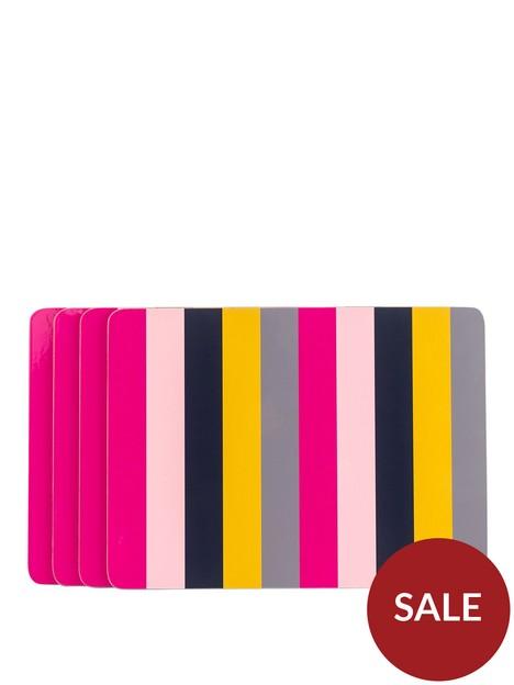 navigate-guatemala-set-of-4-stripe-placemats