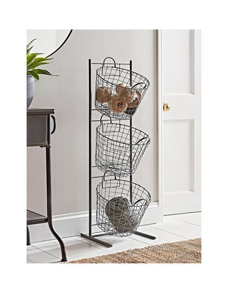 cox-cox-standing-wire-storage-basket