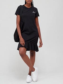 adidas-originals-frill-hem-dress-black