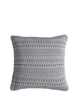 gallery-knitted-fairisle-cushion-grey