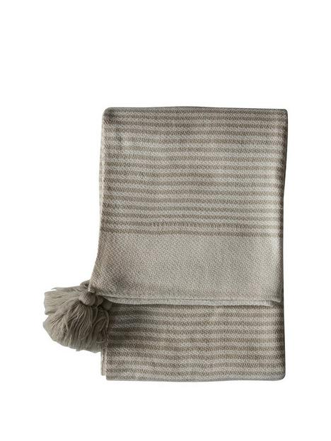 gallery-retreat-striped-tassel-throw-cream