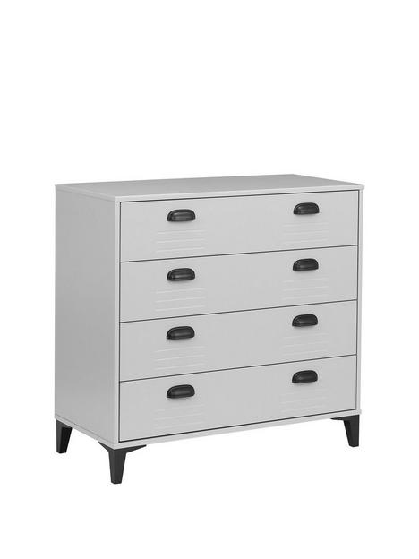 julian-bowen-locker-4-drawer-chest