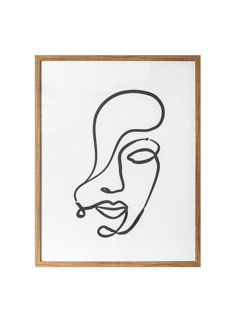 gallery-contour-expressions-line-drawing-framed-print