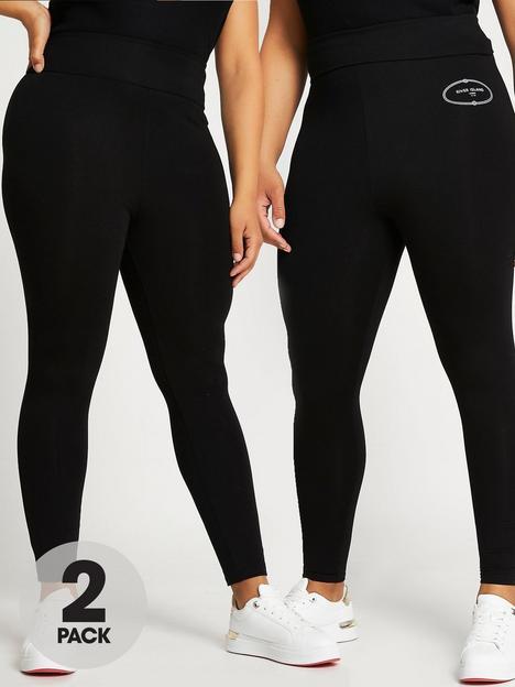 ri-plus-plus-print-plain-multipack-legging-printblack
